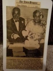 Rev Walter Mondy with his wife Corinne Anderson-Mondy they had 7 children 4 boys and 3 girls