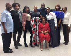 Rosetta Mondy Arcenaux and some of her sons and daughters!